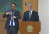 Augusto Aras é empossado para segundo mandato à frente da PGR | Foto: Reprodução | TV Brasil
