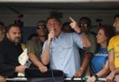 Bolsonaro dá o tom de sempre, o golpe, que ele quer, mas não pode | Foto: Paulo Lopes | AFP