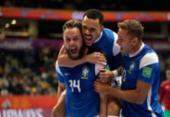 Brasil derrota o Marrocos e vai à semifinal da Copa do Mundo de futsal | Foto: Lucas Figueiredo | CBF | Direitos Reservados