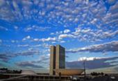 Dia Mundial do Doador de Medula Óssea muda cores do Congresso Nacional | Foto: