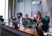 Na CPI da Covid, ministro da CGU nega omissão do órgão no caso Covaxin | Foto: Roque de Sá/ Ag. Senado