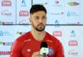 Mateus Claus comenta disputa por vaga de goleiro titular do Bahia | Foto: Felipe Oliveira | EC Bahia
