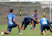 Ainda sem Rossi, Bahia segue preparação para duelo contra o Internacional | Foto: