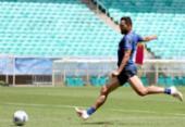 Bahia foca finalizações em primeiro treino após retorno à Fonte Nova | Foto: Felipe Oliveira | EC Bahia