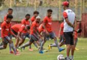 Vitória encerra preparação para enfrentar o líder Coritiba | Foto:
