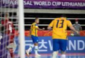 Brasil decide no 2º tempo e vence tchecos na Copa do Mundo de futsal | Foto: