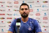 Gilberto comenta renovação e brinca sobre convite para Daniel Alves voltar ao Bahia | Foto: Felipe Oliveira | EC Bahia