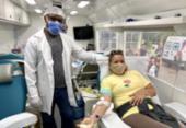 Com estoque crítico de sangue, Hemoba realiza coleta externa na Avenida ACM | Foto: Divulgação | Hemoba