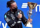 Lewis Hamilton conquista na Rússia sua vitória de número 100 na F1 | Foto: Alexander NEMENOV / AFP