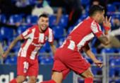Luis Suárez faz dois, e Atlético vence de virada o Getafe pelo Espanhol | Foto:
