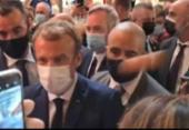Jovem que jogou ovo em Macron é internado em clínica psiquiátrica | Foto: Reprodução/ Redes sociais