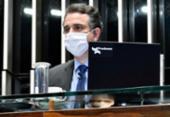 Pacheco defende indicação de André Mendonça ao STF, mas minimiza demora para sabatina | Foto: Waldemir Barreto | Agência Senado