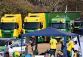 Com ameaça de greve, caminhoneiros terão reunião no Planalto | Foto: Evaristo Sá / AFP