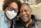 Filha de Pelé tranquiliza fãs e diz que pai se recupera bem | Foto: Reprodução/ Instagram