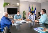 Prefeitos discutem estratégias em busca de compensações da venda de refinaria | Foto: Betto Jr | PMS