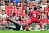 Liverpool vence Crystal Palace e assume liderança provisória da Premier; City tropeça | Foto: