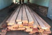 Carga de madeira é recuperada na Bahia | Foto: Divulgação | PC