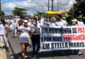 Moradores de Stella Maris protestam contra violência no bairro | Foto: Reprodução | Redes Sociais