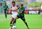 Com gols no fim, América-MG e Flamengo empatam | Mourão Panda | América | Direitos Reservados