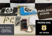 Dupla é presa com dois quilos de cocaína em Ipiaú | Divulgação | Polícia Civil