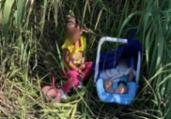 EUA: crianças abandonadas são achadas em fronteira | Reprodução | CBP | Fox News