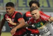 Vitória empata com o Brusque em SC e segue no Z-4 | Lucas Gabriel | Brusque FC