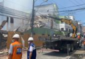 Imóvel que pegou fogo em Salvador será demolido | Divulgação | Codesal
