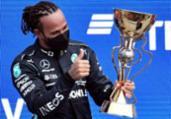 Hamilton conquista na Rússia sua vitória de número 100 | Alexander NEMENOV / AFP