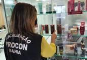 Salões de beleza são atuados em operação do Procon | Divulgação | Procon