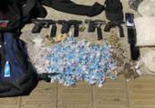 Sete homens armados são presos no bairro de Pernambués   Reprodução   Redes Sociais