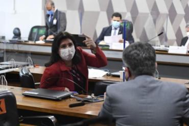 A senadora Simone Tebet (MDB-MS) foi a relatora da PEC | Foto: Roque de Sá | Agência Senado - Foto: Roque de Sá | Agência Senado
