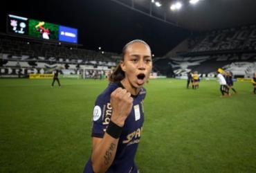 Além do tri no Brasileiro, atacante do Timão é eleita craque da final |