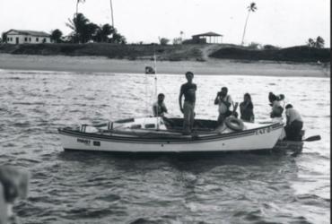 Chegada de Amyr Klink em Itacimirim após Travessia do Atlântico Sul completa 37 anos