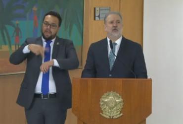 Augusto Aras é empossado para segundo mandato à frente da PGR | Reprodução | TV Brasil