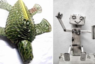 """Exposição """"Arte hippie"""" destaca obras de artistas camaçarienses"""