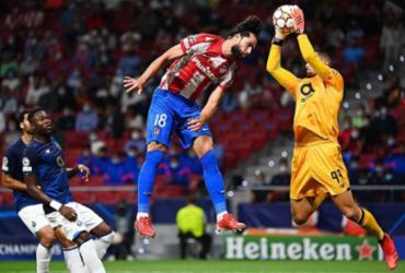 Atlético de Madrid empata em casa com Porto em sua estreia na Champions |
