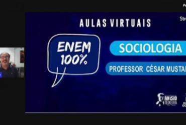 Aula online de Sociologia preparatória para o Enem acontece nesta sexta | Divulgação