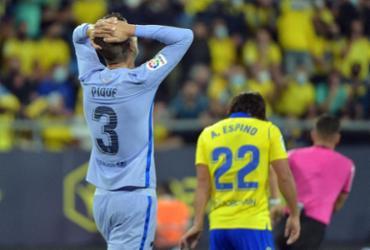 Barcelona fica no 0 a 0 fora de casa com o Cádiz no Espanhol |