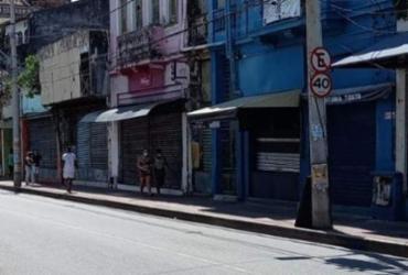 Após morte de jovens, populares fazem protesto na Barroquinha e lojas fecham as portas | Reprodução