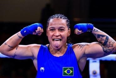 Bia Ferreira atropela rival e garante ouro no Mundial Militar de Boxe | Aiba | Divulgação | Direitos Reservados