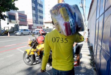 Entrega de cestas básicas a mototaxistas de Salvador começa nesta segunda | Divulgação/ Jefferson Peixoto