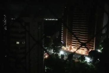 Apagão em Salvador foi ocasionado por falha em estação da Chesf | Reprodução/Redes Sociais