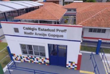 Dois colégios estaduais em Monte Gordo e Arembepe são entregues nesta sexta