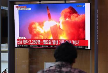 Coreia do Norte lançou 'projétil não identificado', afirma Exército sul-coreano |
