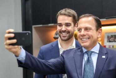 Em prévia tucana, Doria e Leite se unem em defesa do impeachment de Bolsonaro | Rodger Timm | Palácio Piratini