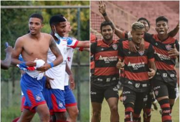Baianão sub-20: Bahia e Vitória voltam a disputar um título após três anos | Felipe Oliveira | EC Bahia e Pietro Carpi | EC Vitória