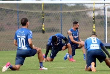 Ainda sem Rossi, Bahia segue preparação para duelo contra o Internacional |