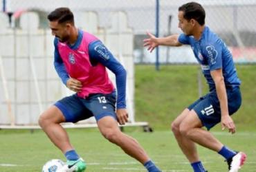 Bahia faz ajustes finais antes de duelo contra o Bragantino | Felipe Oliveira | EC Bahia