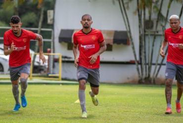 Vitória realiza treino tático antes de duelo contra o Botafogo | Pietro Carpi | EC Vitória