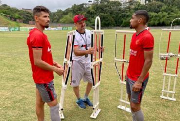 Com retornos e contratados, Lopes relaciona 20 atletas para 'jogo de seis pontos' | Divulgação | EC Vitória